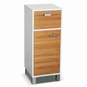 meuble bas de salle de bain quotwhite bambouquot maison futee With meuble bas salle de bain but