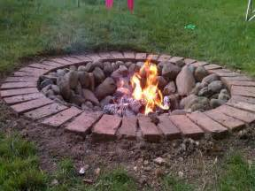 Can You Put Fire Pit Concrete Photo