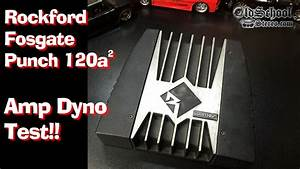 Rockford Fosgate Punch 120a2 Amp Dyno Test