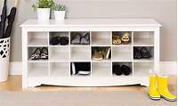 shoe storage solutions 4 Types of Shoe Storage Solutions for Your Home - Overstock.com
