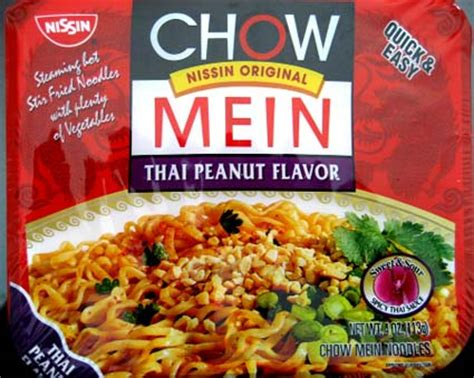 review nissin thai peanut chow mein  impulsive buy