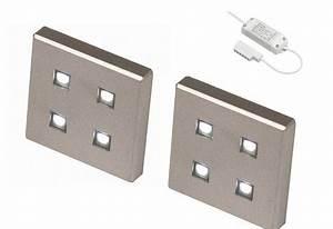 Kleine Led Lampjes : ledw led kastverlichting set 3 lampjes 3 x 1 4 watt vierkant ~ Markanthonyermac.com Haus und Dekorationen
