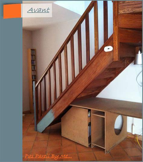 peindre un escalier fabulous peindre un escalier en beton peindre escalier en bois couleur noir