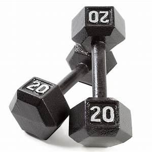 Cap Barbell Cast Iron Hex Dumbbell  Pair   Black  15 Lb  Amazon Ca  Sports  U0026 Outdoors