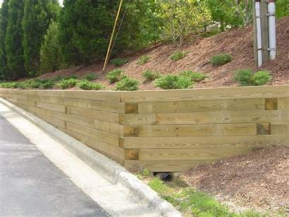 Retaining Walls Wall Landscape Timbers Wood Timber