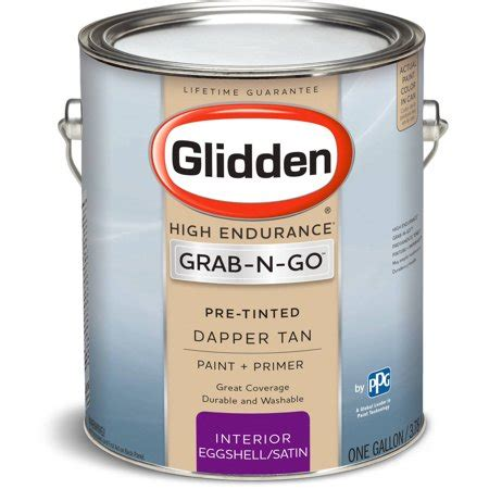 glidden pre mixed ready to use interior paint and primer