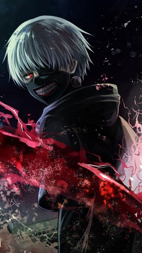 How to change your windows 10 background to a anime wallpaper? 1080x1920 Tokyo Ghoul Art Iphone 7,6s,6 Plus, Pixel xl ...