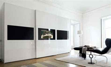 armadi con tv incorporata armadio con tv incorporata una parete attrezzata per la