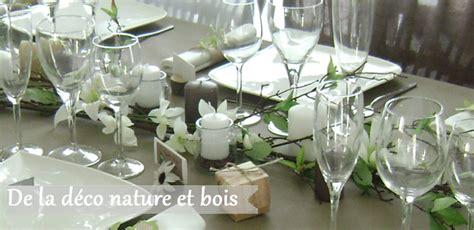decorations de table esprit nature decorations pour mon