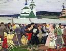 The Fair. Boris Mikhailovich KUSTODIEV | Great Russian Artists