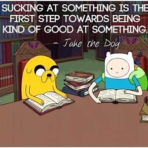 Brilliant quote from Jake :') : adventuretime