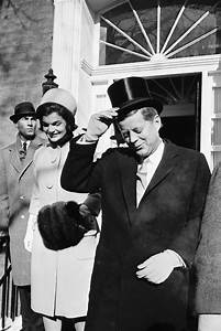 JANUARY 20, 1961 Jacqueline Kennedy and her husband, newly ...