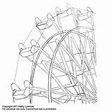 Ferris Wheel Embroidery Pattern Flickr Coloring Template Patterns Drawing Pages Colouring Craft Wheels Sketch Templates Tattoo Designs Justcraftyenough sketch template