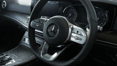 It's certainly more eye catching than the rather drab cabins. Mercedes-Benz E220d E-Class Coupe - Amazing Cars and Drives