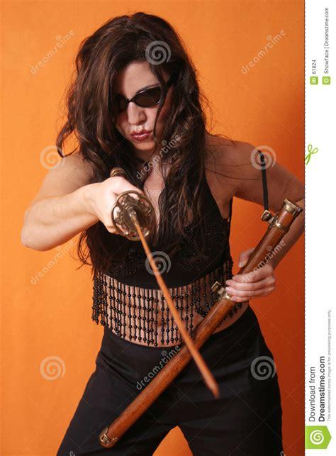 Modern Warrior stock photo. Image of sport, scabbard ...