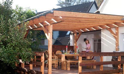 Terrassenueberdachung Selber Bauen by Terrassen 252 Berdachung Selbst De
