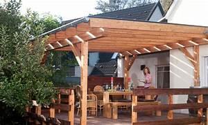 Carport Selber Bauen Material : terrassen berdachung ~ Markanthonyermac.com Haus und Dekorationen