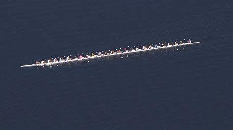 Boat Club Jordan Lake Nc by World S Longest Rowing Shell Seen At Jordan Lake Abc11