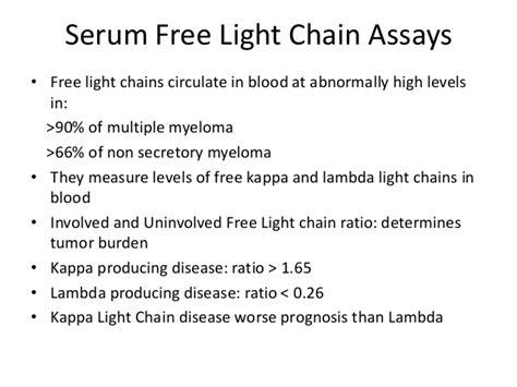 high kappa light chain multiple myeloma