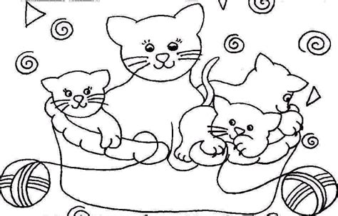 chambre theme jungle coloriage chats chats 3 à colorier allofamille