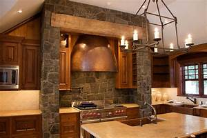 captivating stone kitchen designs with stone backsplash With kitchen cabinets lowes with natural candle holders