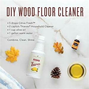 You can make your own diy nontoxic wood floor cleaner with for Homemade furniture polish with essential oils