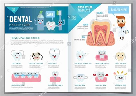 Free Dental Brochure Templates by 20 Dentist Brochure Templates Free Premium
