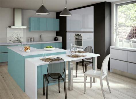 les decoration des cuisines les îlots de cuisine on dit oui cocon de décoration