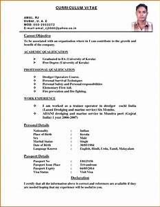 5 indian curriculum vitae samples