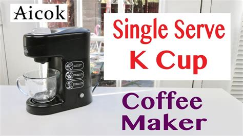 Aicok ️ K Cup Single Serve Coffee Maker Coffee Creamer Rice Pudding Starbucks Iced K Cups Nutrition Jelly Benefits Of Before Bed Creamers Weight Watchers Points Essential Oil You Don't Refrigerate Flavor Combos