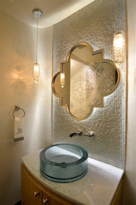 Bright Quatrefoil Mirror fashion Austin Mediterranean