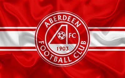 Download wallpapers Aberdeen FC, 4K, Scottish Football ...