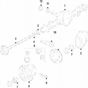 Genuine Gm Differential Pinion Bearing 22943106