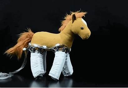 Stuffed Robotic Animals Robots Skin Into Robot
