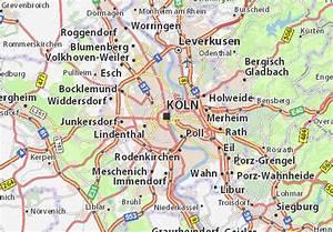 Köln Und Umgebung : karte stadtplan k ln viamichelin ~ Eleganceandgraceweddings.com Haus und Dekorationen