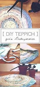 Teppich Für Badezimmer : diy teppich f r s badezimmer selbermachen diy deko selber machen weben teppich h keln ~ Orissabook.com Haus und Dekorationen