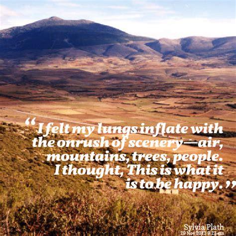 scenery quotes quotesgram