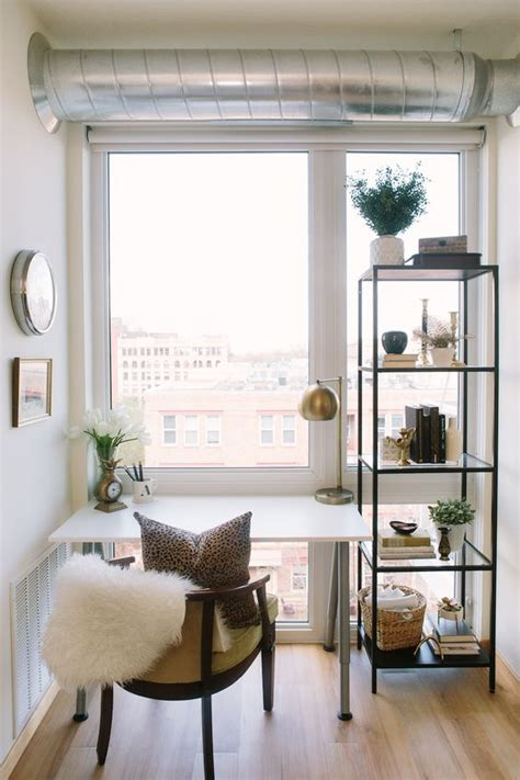 A Small Industrial Apartment With A Home Office Blue Decor by Best Interior Ideas For Limited Space Apartments Homesfeed