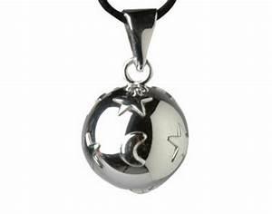Boule De Grossesse : bola argent boule bijou de grossesse etoile lune ~ Melissatoandfro.com Idées de Décoration
