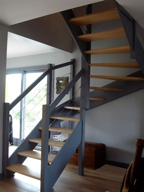 escaliers magnin escalier 2 4 tournant vttv sans