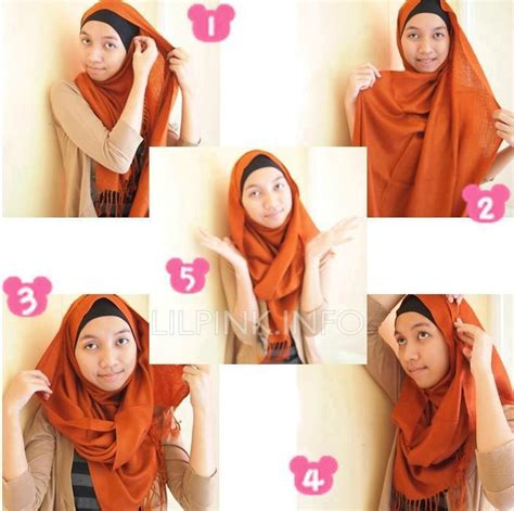 trendy hijab styles tutorial    dha today