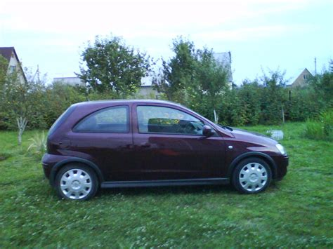 2004 Opel Corsa Pictures 1200cc Gasoline Ff Manual