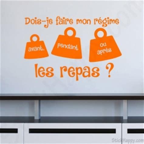 proverbe cuisine humour stickhappy com stickers citation pour la déco