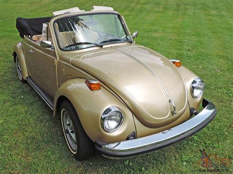 volkswagen gold 1974 volkswagen super beetle limited edition gold sun bug