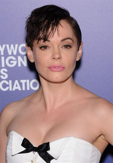 Rose McGowan Short Hair