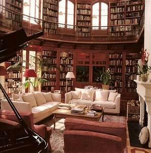 Schöner Wohnen Arbeitszimmer : hier k nnte ich es aushalten sch ner wohnen pinterest bibliothek buecher und tr ume ~ Sanjose-hotels-ca.com Haus und Dekorationen