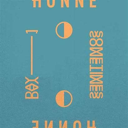 Spotify Honne Album Open Playlist Sometimes Stickers