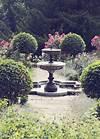 An Elegant Castle Wedding   Romantic, Rose and Gardens romantic garden fountain