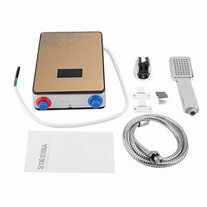220v 6500w Electric Kitchen Tankless Instant Hot Water Heater Shower For Home Bathroom