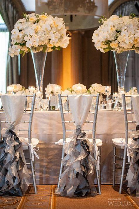deco chaise mariage decoration table de mariage chic